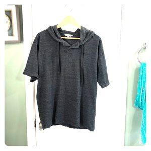 Calvin Klein hoodie short sleeve. Men's